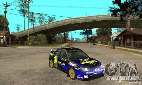 Subaru Impreza STi WRC wht1 pour GTA San Andreas vue intérieure