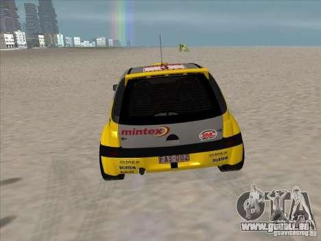 Opel Rally Car für GTA San Andreas rechten Ansicht