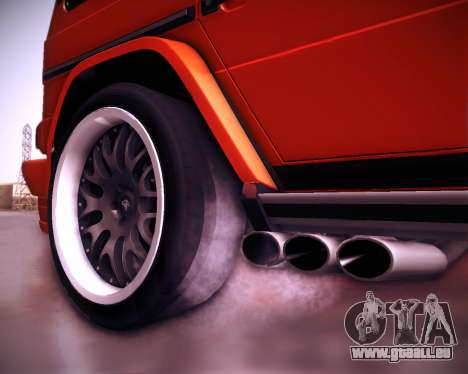 Mercedes-Benz G65 AMG 2013 Hamann für GTA San Andreas Unteransicht