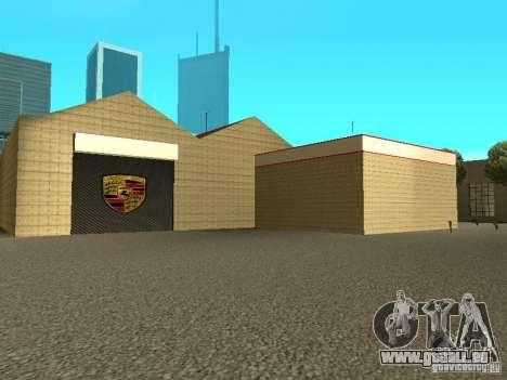 Garage Porsche pour GTA San Andreas cinquième écran