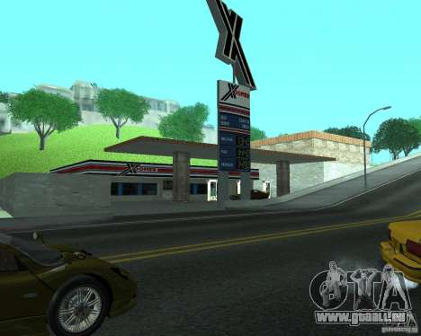 Nouveau Xoomer. nouvelle station-service. pour GTA San Andreas