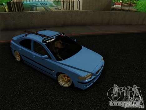 Volvo S60 pour GTA San Andreas laissé vue