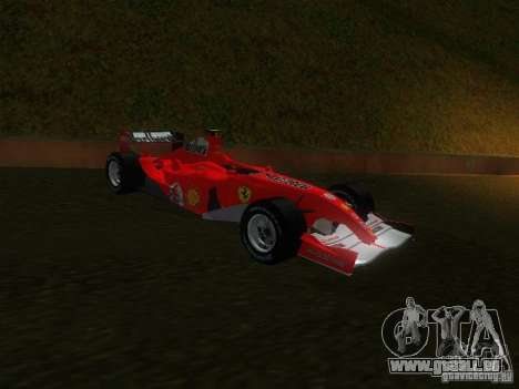 Ferrari F1 für GTA San Andreas