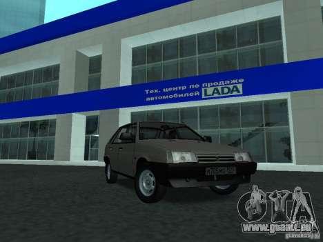 VAZ 2109 CR c. 2 pour GTA San Andreas
