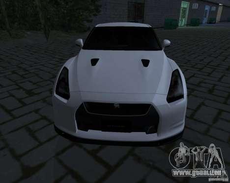 Nissan GTR-35 Spec-V pour GTA San Andreas laissé vue