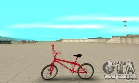 Noxon Jump Bmx pour GTA San Andreas laissé vue