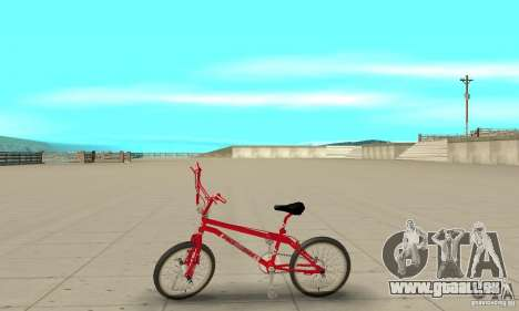 Noxon Jump Bmx für GTA San Andreas linke Ansicht