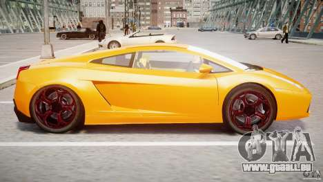 Lamborghini Gallardo Superleggera pour GTA 4 Vue arrière de la gauche