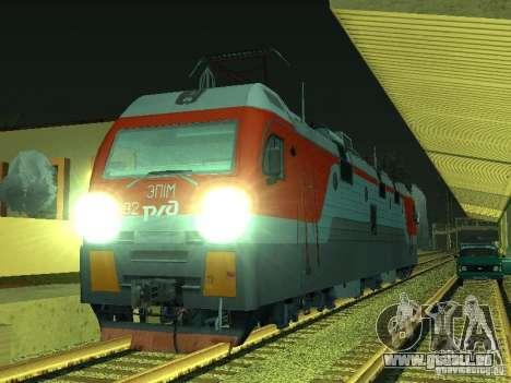 ÈP1M-392 OJSC « CHEMINS DE FER RUSSES » pour GTA San Andreas