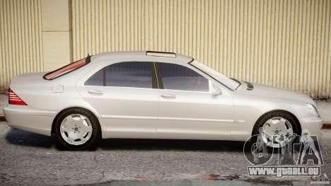 Mercedes-Benz W220 pour GTA 4 est une gauche
