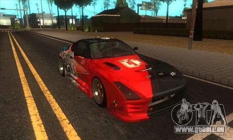 Toyota Supra Evil Empire pour GTA San Andreas