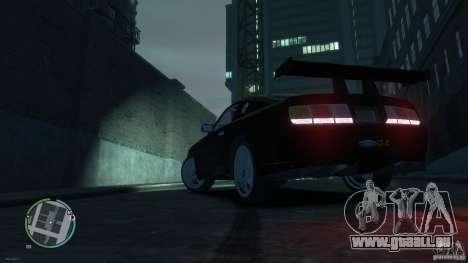 Ford Mustang GTR pour GTA 4 est une gauche