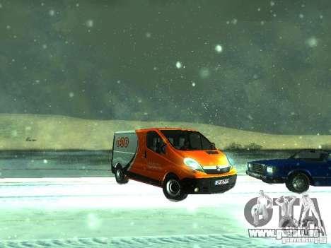 Vauxhall Vivaro v1.1 TNT pour GTA San Andreas laissé vue