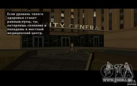 Lokalisierung von SanLtd Team für GTA San Andreas fünften Screenshot