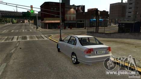 Honda Civic V-Tec pour GTA 4 est un droit