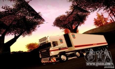 FEMA-Trailer-Russland für GTA San Andreas Seitenansicht