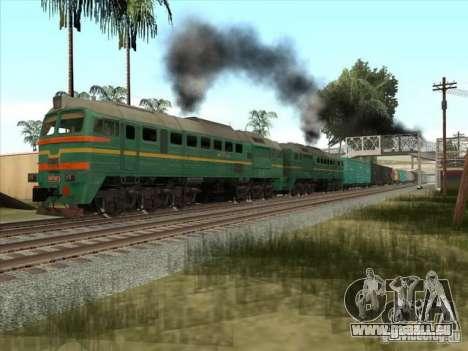 Chemin de fer d'États baltes locomotive fret pho pour GTA San Andreas