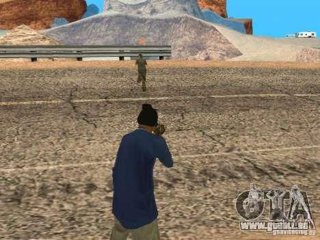 Mis à jour le système pedov pour GTA San Andreas quatrième écran