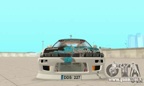 Nissan Silvia S13 NonGrata für GTA San Andreas Rückansicht