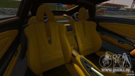 Pagani Huayra 2011 [EPM] pour GTA 4 Vue arrière