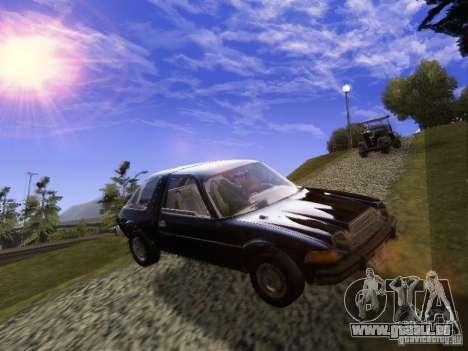 AMC Pacer pour GTA San Andreas vue de droite