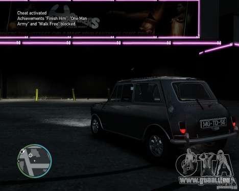 Austin Mini Cooper S für GTA 4 rechte Ansicht