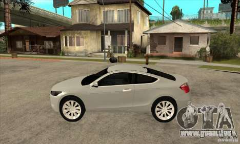 Honda Accord Coupe 2009 pour GTA San Andreas laissé vue