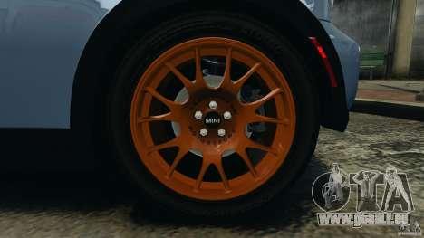 Mini Cooper S v1.3 für GTA 4 obere Ansicht