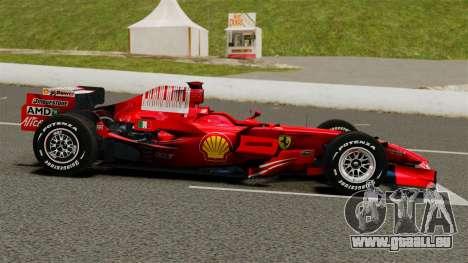 Ferrari F2008 für GTA 4 linke Ansicht