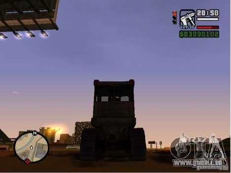 Bulldozer T 130 für GTA San Andreas rechten Ansicht