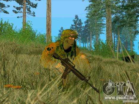 Boue Camo Morpeh pour GTA San Andreas quatrième écran