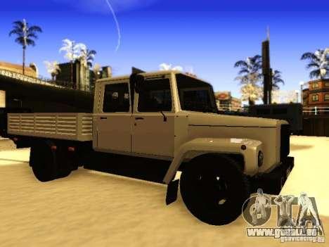 GAZ 3309 zweireihige für GTA San Andreas linke Ansicht