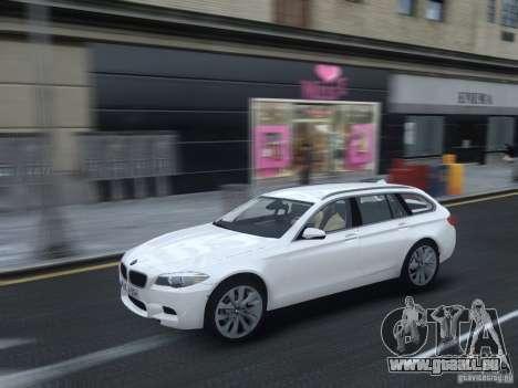 BMW M5 F11 Touring V.2.0 pour GTA 4 est une vue de l'intérieur