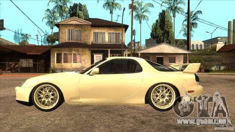 Mazda RX7 FD3S Type-R Bathurst pour GTA San Andreas laissé vue