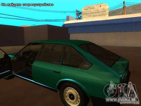 Moskvich 2141 pour GTA San Andreas vue de côté
