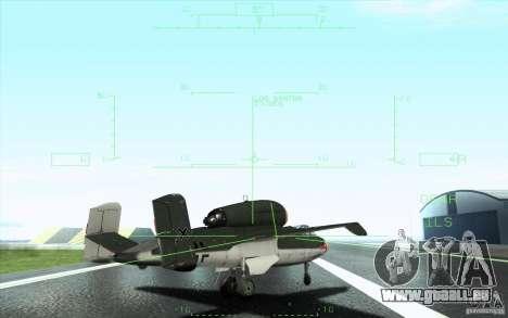 Henkel 162A Salamander pour GTA San Andreas vue de dessous