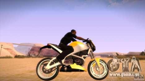 Buell Lightning 1200 für GTA San Andreas rechten Ansicht