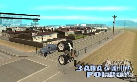 QUAD BIKE Custom Version 1 pour GTA San Andreas vue de droite