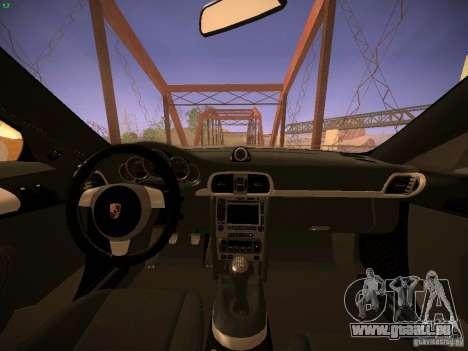 Porsche 911 für GTA San Andreas obere Ansicht