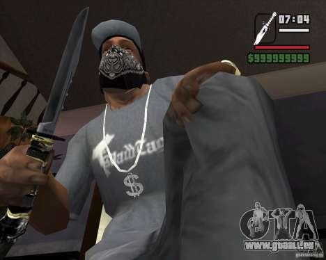 Das Messer von der Stalker # 2 für GTA San Andreas zweiten Screenshot