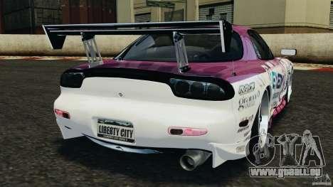 Mazda RX-7 EXEDY D1 für GTA 4 hinten links Ansicht