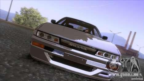 Nissan Sil80 pour GTA San Andreas vue arrière