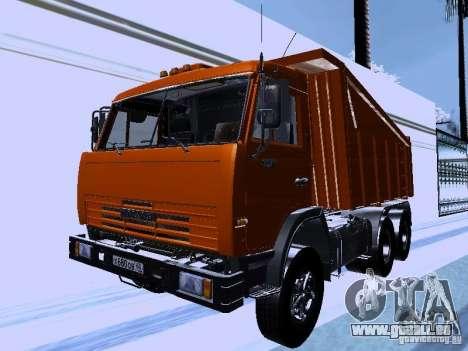 KAMAZ 54115 camion pour GTA San Andreas
