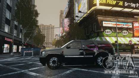 Chevrolet Tahoe tuning pour GTA 4 Vue arrière de la gauche