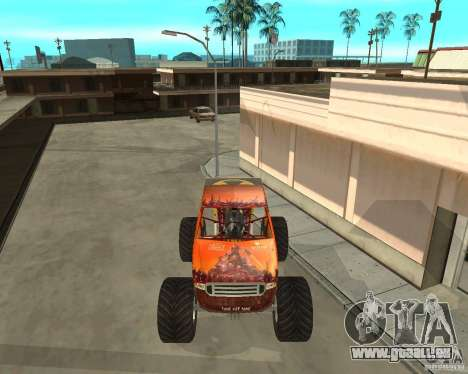 Mighty Foot für GTA San Andreas linke Ansicht