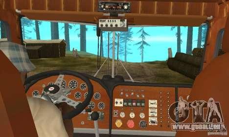 Peterbilt 289 für GTA San Andreas rechten Ansicht
