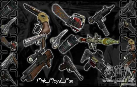 Grand Pack d'armes pour GTA San Andreas