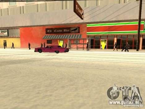 Augmenter le trafic pour GTA San Andreas quatrième écran