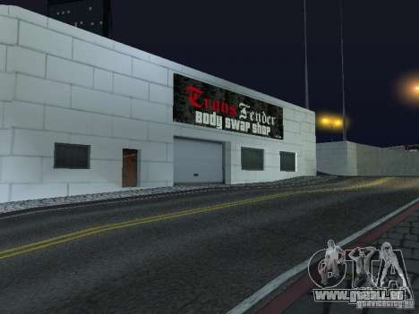 Voitures neuves de Wang-Salon de l'Auto pour GTA San Andreas quatrième écran