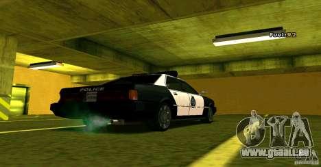 Sentinel Police LV für GTA San Andreas linke Ansicht